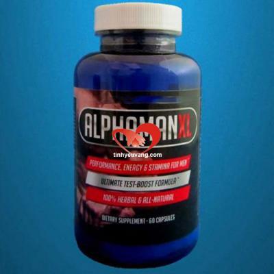 Thuốc tăng kích thước cậu nhỏ Alphaman XL chính hãng
