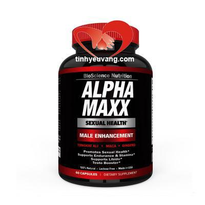 Địa điểm bán Thuốc tăng kích cỡ dương vật Alpha MAXX USA (Mỹ)  chính hãng