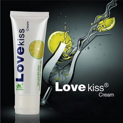 Gel bôi trơn Love Kiss hương chanh cao cấp 50ml