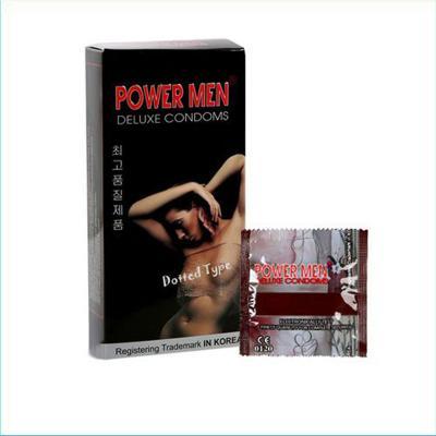 Hộp bao cao su Power Men Dotted Type 12 chiếc nhập khẩu giá rẻ