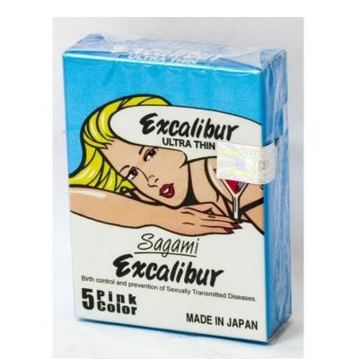 Hộp bao cao su Sagami Excalibur 3 chiếc chính hãng nhập khẩu hàng xách tay