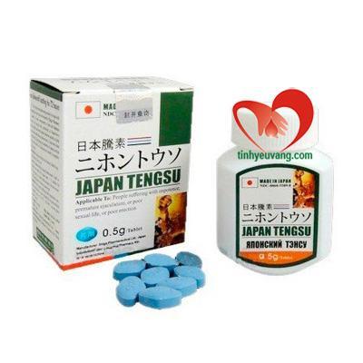 Thuốc cường dương của Nhật Bản Japan Tengsu nhập khẩu chính hãng