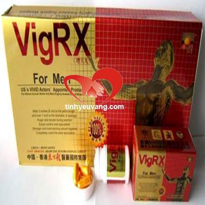 Thuốc cường dương VigRx nam chính hãng