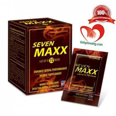 Thuốc tăng cường dương nam Seven Maxx
