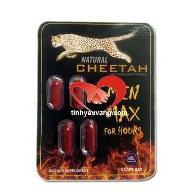 Thuốc tăng cường sinh lý nam giới Natural Cheetah chính hãng