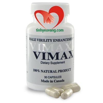 Thuốc tăng cường sinh lý nam giới Vimax 30 viên